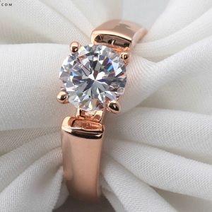 Jewelry - ⚜️ROSE GOLD DIAMOND RING⚜️